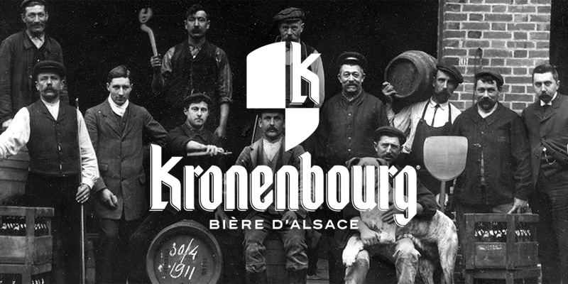 logo bière Kronenbourg