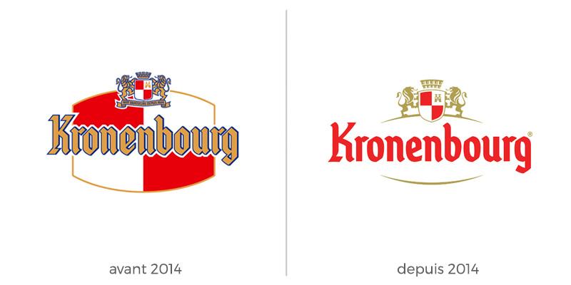 Refonte logo Kronenbourg