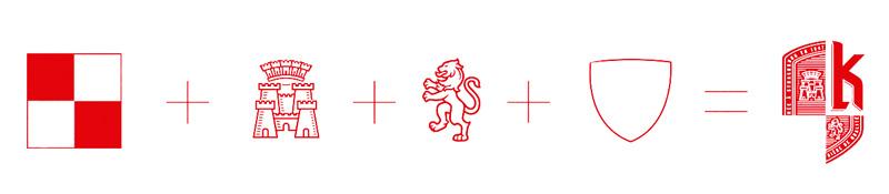 création du logo Kronenbourg