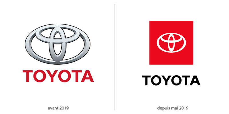 Logo Toyota 2019